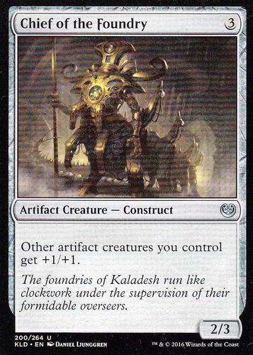carta magic chief of the foundry