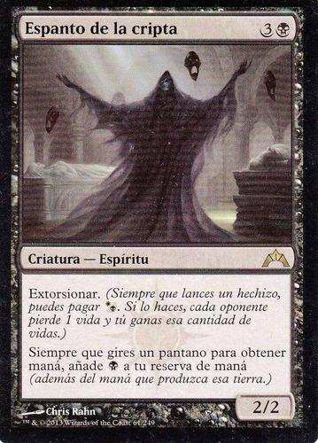 carta magic espanto de la cripta
