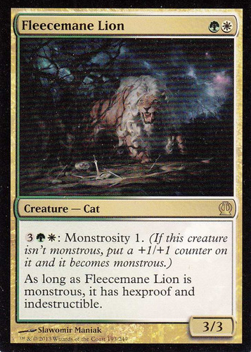 carta magic fleecemane lion