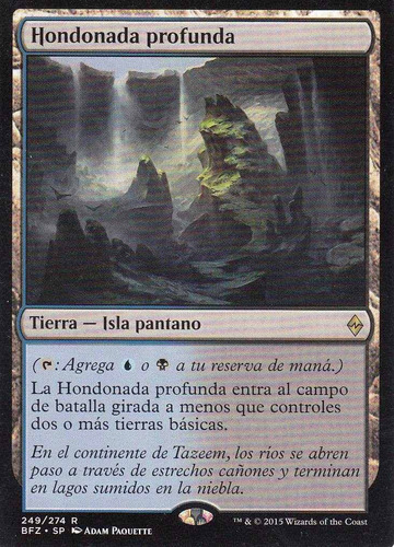 carta magic hondonada profunda