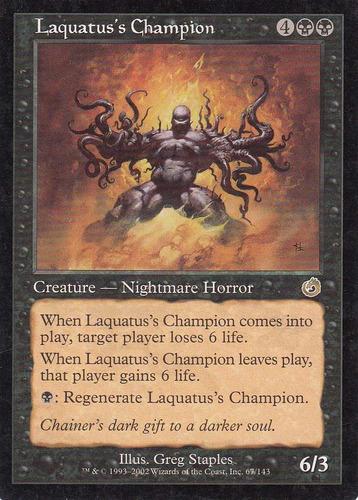 carta magic laquatus champions