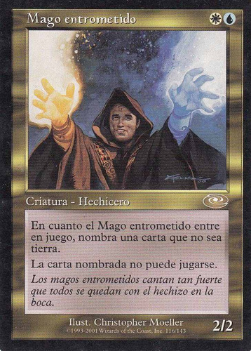 carta magic mago entrometido