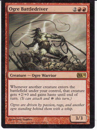 carta magic ogre battledriver
