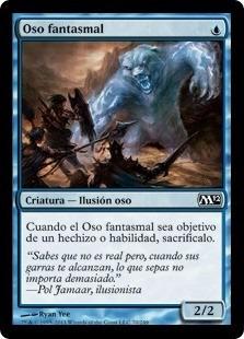 carta magic oso fantasmal