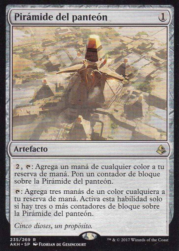 carta magic piramide del panteon