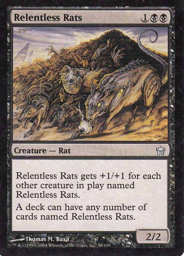 carta magic relentless rats