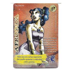 Carta Mitos Y Leyendas - Afrodita