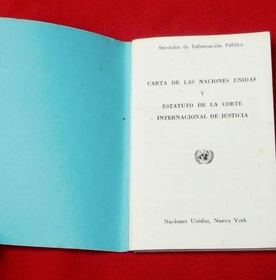 carta naciones unidas estatuto corte internacional justicia