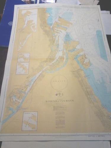 carta nautica de dinamarca copenhague  baltico