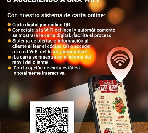 carta online - desde comercio/pedidos a domicilio/take away