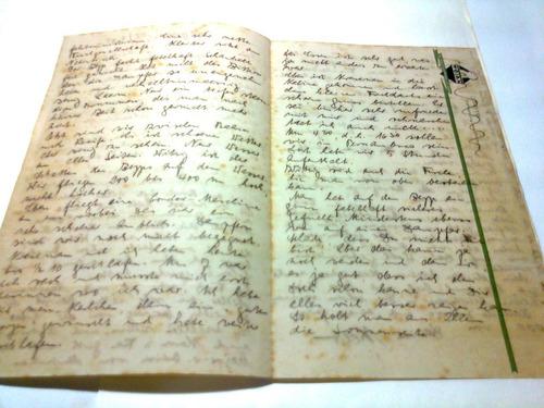 carta passageiro alemão no graf  zeppelin  28/09/35 original