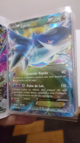 carta pokemon - latios ex - céus estrondosos 58/108