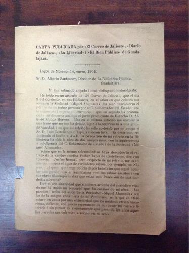 carta publicada por el correo de jalisco, diario de jalisco