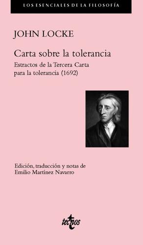 carta sobre la tolerancia (1689)(libro filosofía)