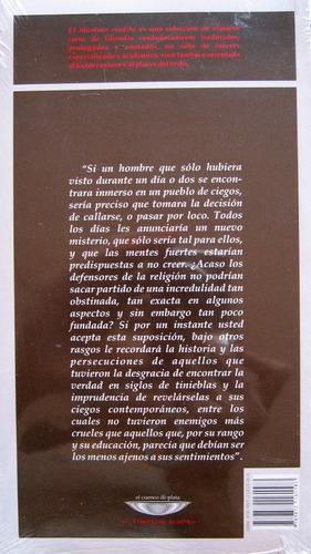 carta sobre los ciegos, denis diderot, ed. cuenco de plata