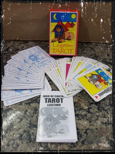 carta tarot legitimo egipcio 40 cartas 2 - pronta entrega