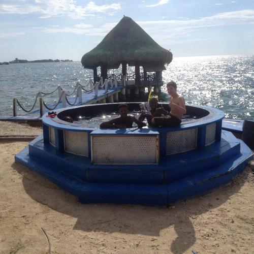cartagena isla privada islas rosario full elegante buceo