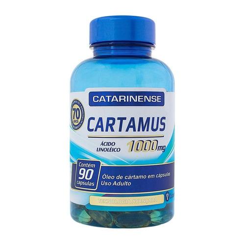 cartamus ácido linoléico 1000mg com 90 cápsulas catarinense