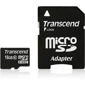 Cartão 16gb Micro Sdhc Classe 10 C/ Adap Sd - Kit 10 Unid