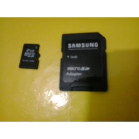 Cartão De Memória 2gb Samsung + Adaptador