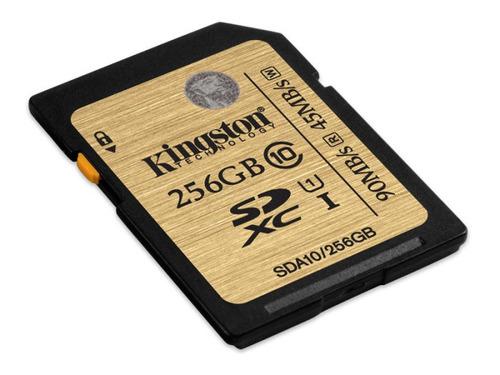 cartao de memoria classe 10 kingston sda10/256gb secure dig