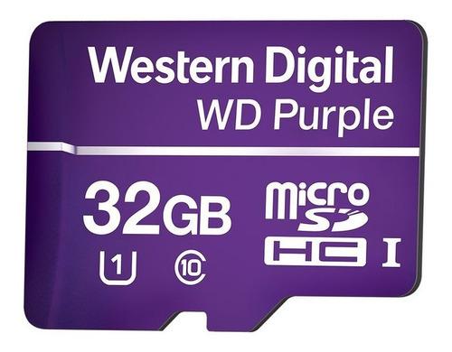 cartao de memoria micro sd purple intelbras de 32gb