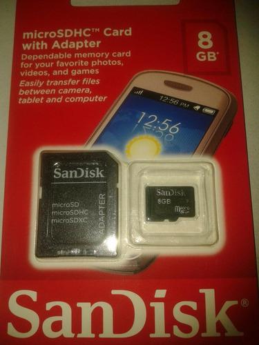 cartao de memoria sandisk 8gb