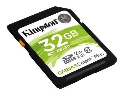 cartao de memoria sd 32gb kingston 100mb/s sds2/32gb