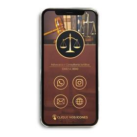 Cartao De Visita Digital Interativo - Advocacia - Advogado