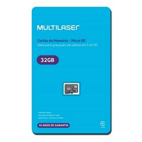 Cartão Memória Sdhc Classe 10 32gb Mc145 + Adaptador