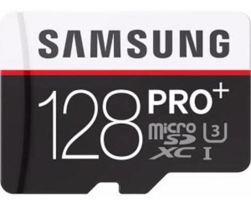cartao microsd 128gb samsung evo pro plus 100mb/s (u3) 4k