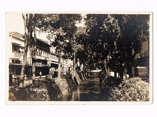 cartao postal fotografico petropolis - rj - anos 50