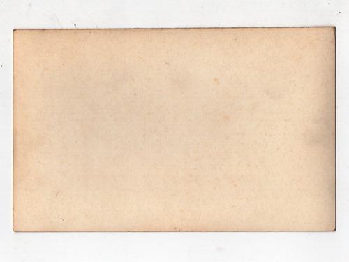 cartao postal recanto praia tambau - joao pessoa - anos 50