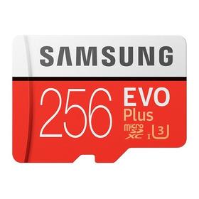 Cartão Samsung Micro Sdxc Evo Plus+ 256gb Sd Nintendo Switch