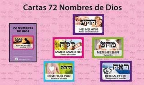 cartas 72 nombres de dios