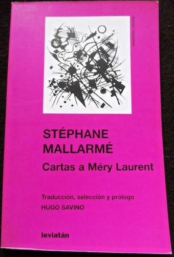 cartas a méry laurent - stephane mallarmé - epistolar - 2004