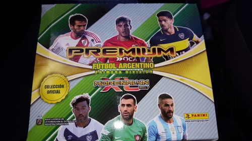 cartas adrenalyn premium panini originales pack x 16 2017