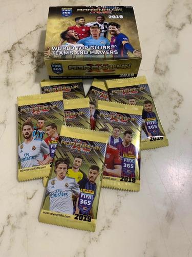 cartas adrenalyn xl fifa 365 año 2019 caja con 26