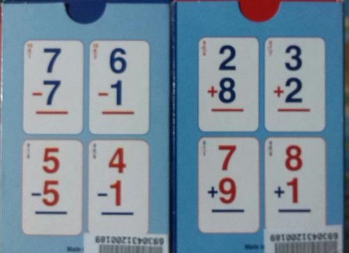 cartas / barajas suma y resta