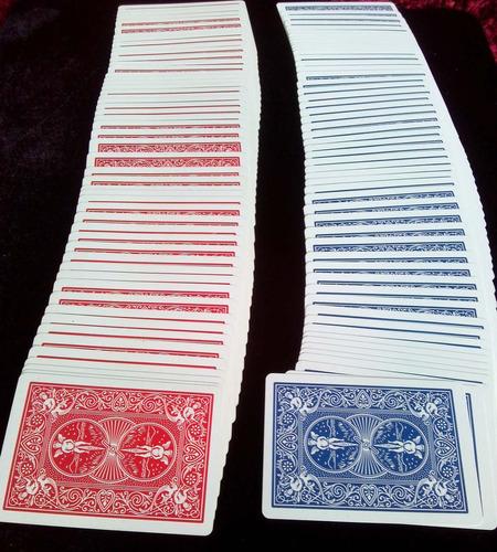 cartas bicycle standard baraja para poker y magia - nueva