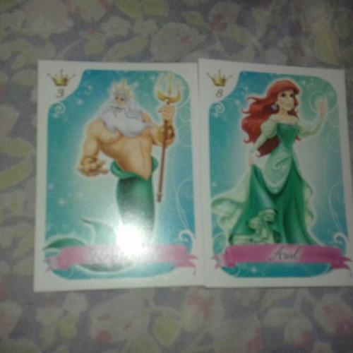 cartas coleccionables princesas de disney