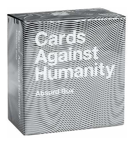 cartas contra la humanidad: caja absurda