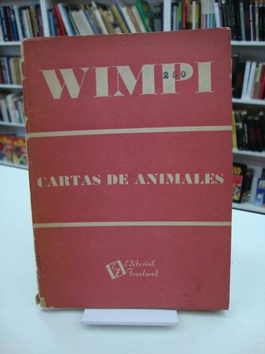 cartas de animales - wimpi