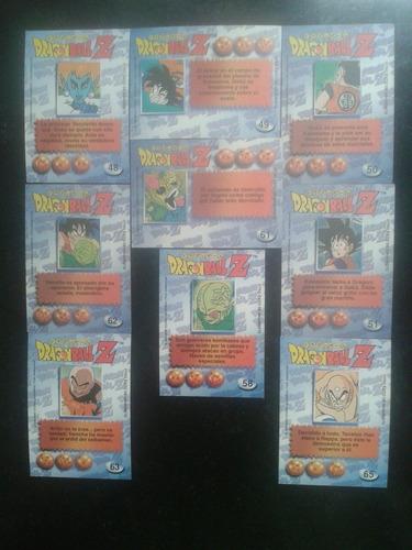 cartas de coleccion dragon ball z1