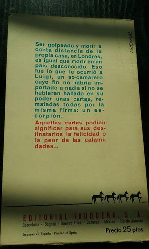 cartas de escorpion - victor canning - caballo negro