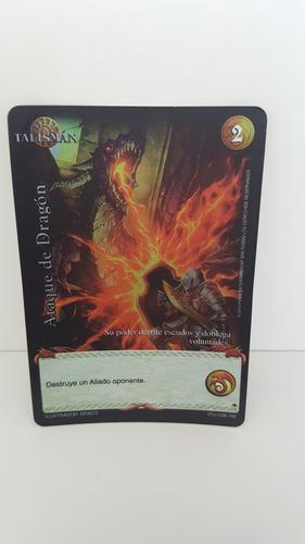 cartas de furia myl ataque de dragones 38/190
