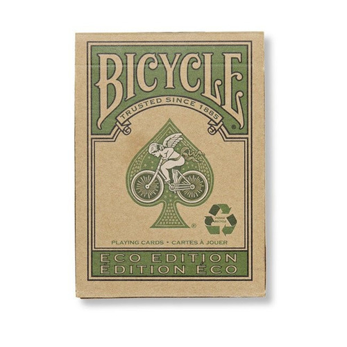 cartas de magia y poker bicycle eco edition - las ecologicas
