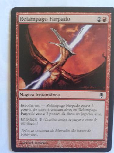 cartas de magic - relampago farpado