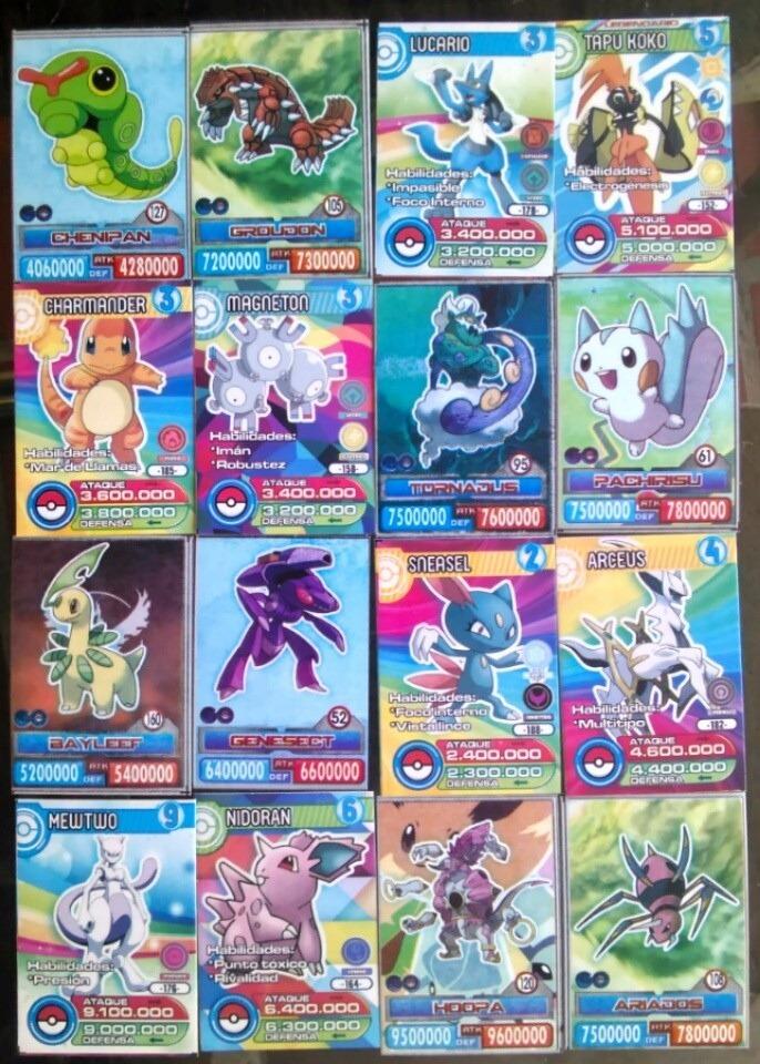 Cartas De Pokemon Go 2019 ( 10 Cartas ) Edición Especial
