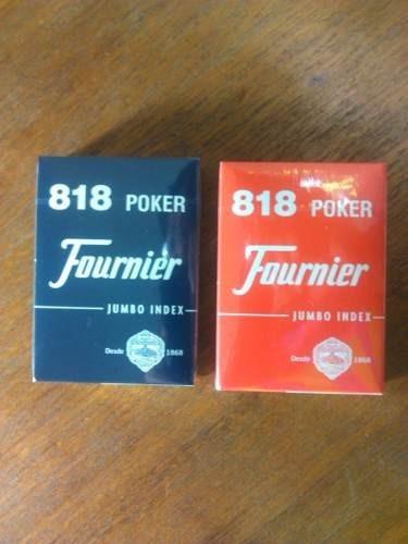 cartas de poker fournier 818 originales de nylon ypt